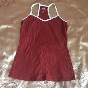 Garage Tank Top Red White Size S/P
